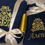 Халат с якутским орнаментом