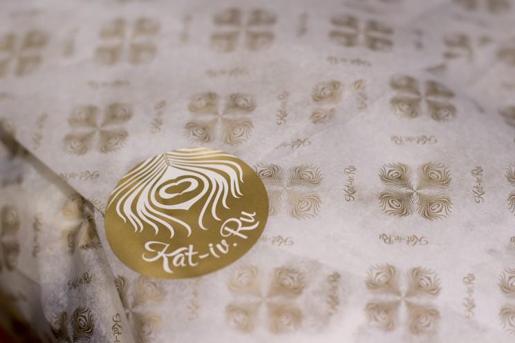 Оберточная бумага для халатов