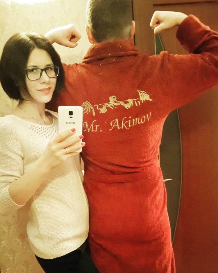 Анастасия Ковальская - халат для мужа в подарок